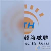 8mm无手印蒙砂玻璃