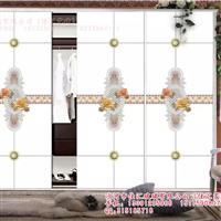 工艺玻璃衣柜门超白5D砂雕喷绘