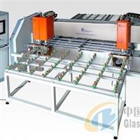 CNC全自动卧式玻璃钻孔机