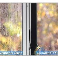 12mm自洁净玻璃对比