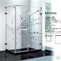 数码打印玻璃淋浴房