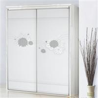價格合理的玻璃移門|新式的3D立體超白玻璃門
