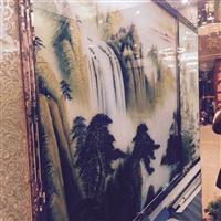 广东优质艺术玻璃、背景墙价格