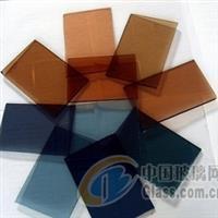 佛山广州8mm威海蓝钢化玻璃