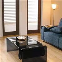 家具热弯黑玻璃