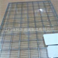 进口6.8mm夹铁丝玻璃