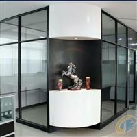 郑州办公室隔断墙安装,玻璃隔断
