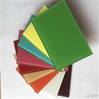 各种彩色烤漆玻璃
