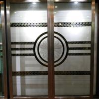 艺术移门玻璃 可钢化玻璃