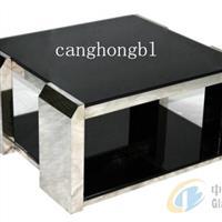 8-12毫米纯黑色钢化玻璃