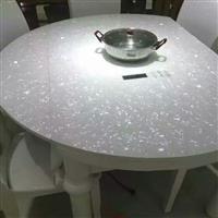 河北优质圆形钢化玻璃桌面