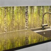 艺术玻璃背景墙装饰
