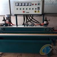 JDSM-32五磨头气动压磨边机,玻璃瓷砖复合板、贴板玻璃专用玻璃磨边机