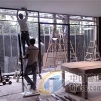 地弹簧玻璃门 白云区专业装修