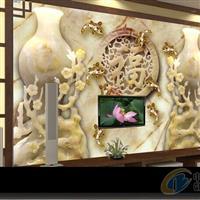 厂家直销酒店装潢玉石神雕背景墙