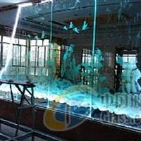 内雕玻璃-八仙过海图