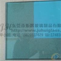 厂家直销6MM钢化蓝玻璃