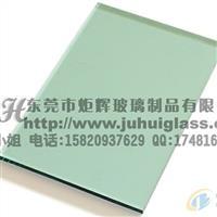 东莞厂家直销5MM钢化绿玻