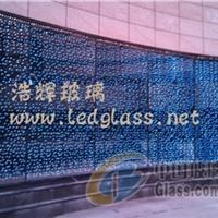 满天星 发光玻璃 广场幕墙玻璃