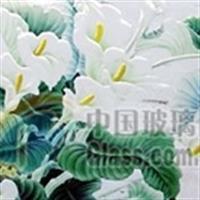 北京藝術玻璃-玻璃雕刻浮雕產品