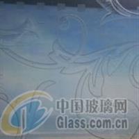 透光凹蒙装饰玻璃