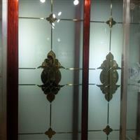 沙河艺术移门玻璃深加工