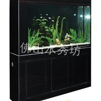 黑色魚缸玻璃