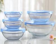 深圳采购-5件套钢化玻璃碗