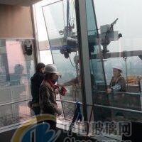 高空外墙玻璃安装 拆除