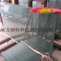 菱形格夹丝玻璃 透明夹钢丝玻璃