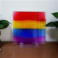 彩色特种玻璃各种彩色拼接系列