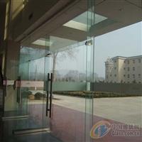 太原市装饰安装钢化玻璃门