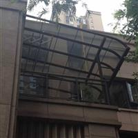 铝合金玻璃雨棚,玻璃雨阳房