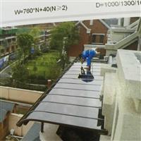 绵阳玻璃铝合金雨篷生产厂家