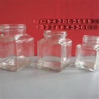 生产值供玻璃方瓶广口瓶