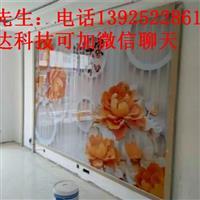 陕西玻璃背景墙数码印刷机