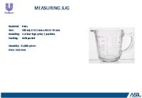 淄博采购-500ml玻璃量杯
