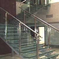 防滑玻璃地面/地台/地板