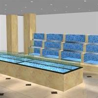 潍坊专业做酒店循环水鱼缸