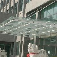 玻璃雨棚玻璃阳棚厂家