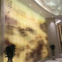 家装彩釉玻璃背景墙