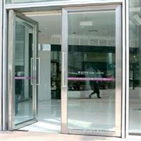 和平区玻璃门安装钢化玻璃门