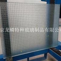 夹丝防火玻璃 钢化夹丝玻璃