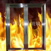 博安地弹簧防火玻璃门