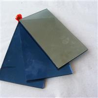 蓝镀膜玻璃