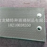 新型防滑玻璃 楼梯防滑地板