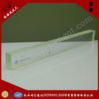 200MM国家二等玻璃线纹尺  国家标准校正玻璃尺
