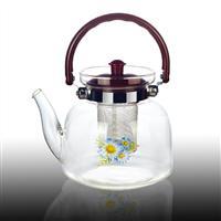 耐热玻璃提手泡茶杯直火壶2200ML