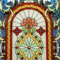 教堂彩釉玻璃