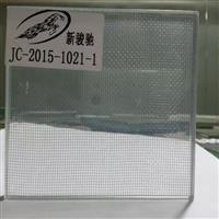 白玻夹白玻夹丝网钢化玻璃